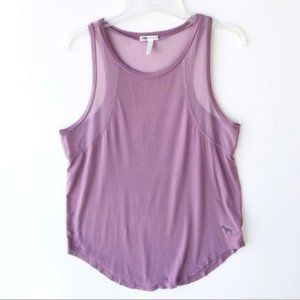 PINK VS Mesh Panel Tank Top Activewear purple M